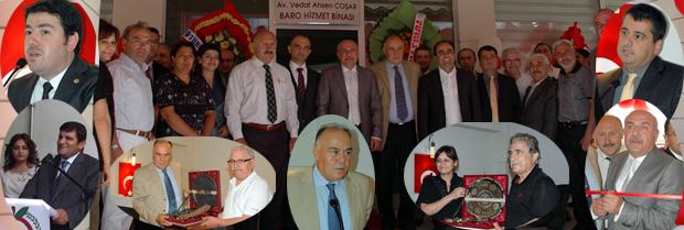 Baro Sosyal Tesisleri ve Hizmet Binasının Açılışı