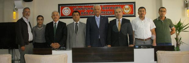 Eski Adalet Bakanı Sayın Mahmut Oltan SUNGURLU Baro' yu Ziyaret Etti
