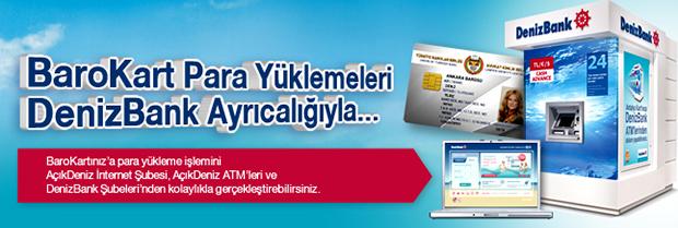 Barokart Denizbank