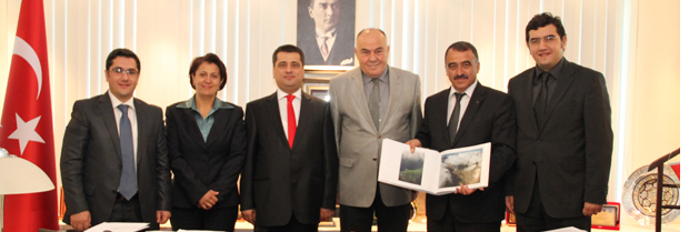 Türkiye Barolar Birliği Başkanlığına Ziyaret