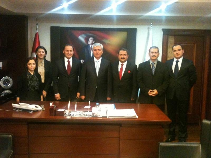 Erzincan Barosu Yönetim Kurulu Ankara da ziyaretlerde bulundu