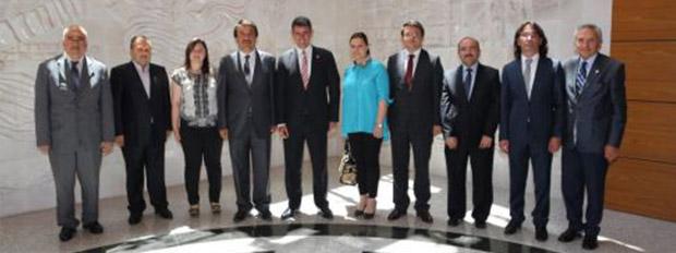 Kastamonu Baro Başkanı ve Yönetim Kurulu Üyeleri; Türkiye Barolar Birliği'ni Ziyaret Etti