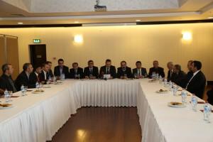 Baro başkanımızında katıldığı Doğu ve G.Doğu Baroları Basın Açıklaması