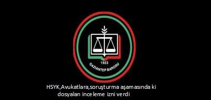 HSYK,Avukatlara,soruşturma aşamasında ki dosyaları inceleme izni verdi