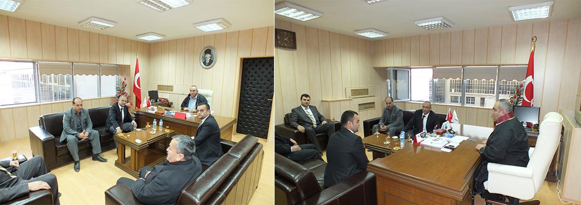 Milletvekilimiz Durdu Mehmet KASTAL'dan Baromuza Ziyaret