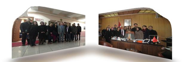 Savcılık ve Komisyon ziyareti