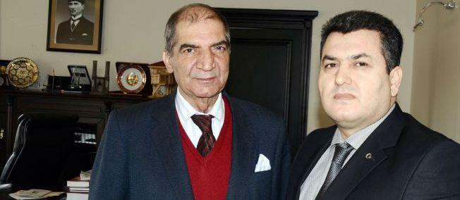 Erzurum Başsavcısı Ramazan Apaçık'tan Erzurum Baro Başkanı Av. Faruk Terzioğlu'na Veda Ziyareti
