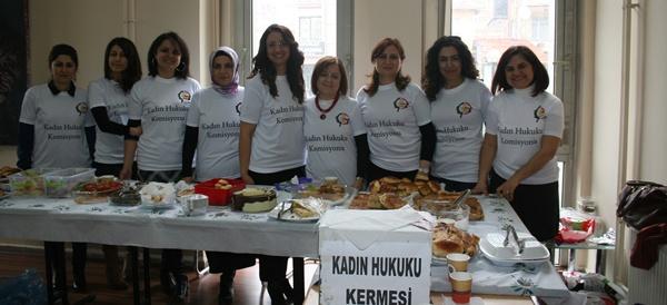 8 Mart Dünya Kadınlar Günü Dolayısıyla Çorum Barosu Kadın hukuku Komisyonunca Yardım Kermesi Düzenlendi