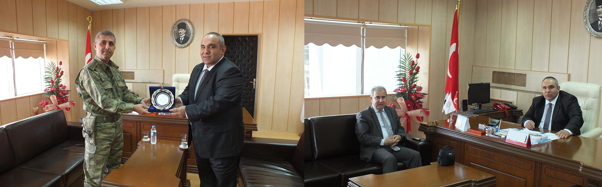 İl Jandarma ve Yeni Hayat Hastanesinden Baromuza Ziyaret