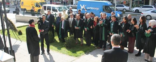 5 Nisan Avukatlar Gününü kutladık.