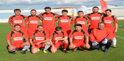Valilik Futbol Turnuvasında Baromuz ve  Milli Eğitim futbol takımı karşılaştı