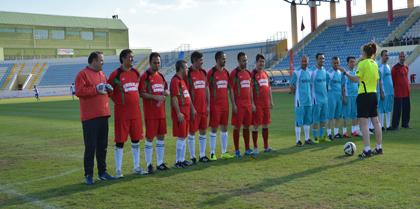 Valilik Futbol Turnuvasında Baromuz ve  Tümçader futbol takımı karşılaştı