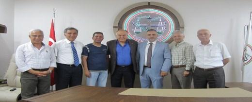 Türkiye Barolar Birliği bir önceki dönem başkanımız Av. V. Ahsen Coşar Baromuzu ziyaret etti.
