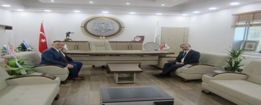 Sakarya Valisi Sayın Hüseyin Avni Coş Baromuzu ziyarette bulundu.