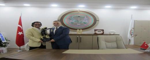 Zonguldak Barosu Başkanı Av. İbrahim Kerem Ertem Baromuzu ziyaret etti.
