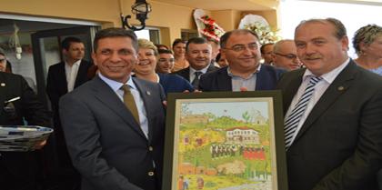 Yalova Barosu Yeni Hizmet Binası ve Sosyal Tesisi Açılış Törenine Baro Başkanı Av. Ayhan YILMAZ katıldı