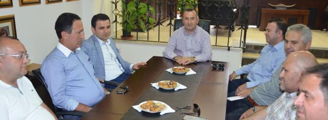 Milletvekilimiz Av. Kaşdemir ve AK Parti Merkez İlçe Heyeti'nden Baromuza Ziyaret