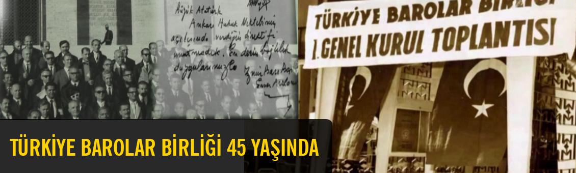 TBB 45 YAŞINDA