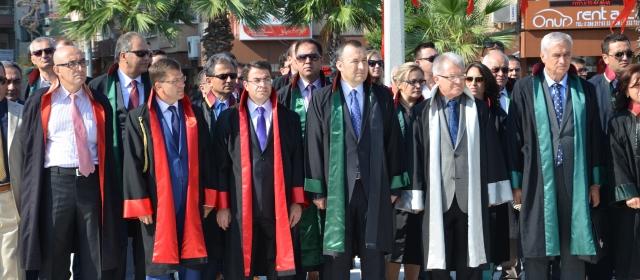 2014-2015 Adli Yıl Açılışı Atatürk Anıtına Çelenk Sunma Töreni