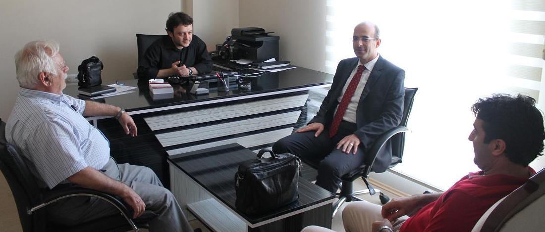 Baro Başkanımız Avukat Faruk BOSTANCI' dan Avukat Ahmet ATA'ya Ziyaret