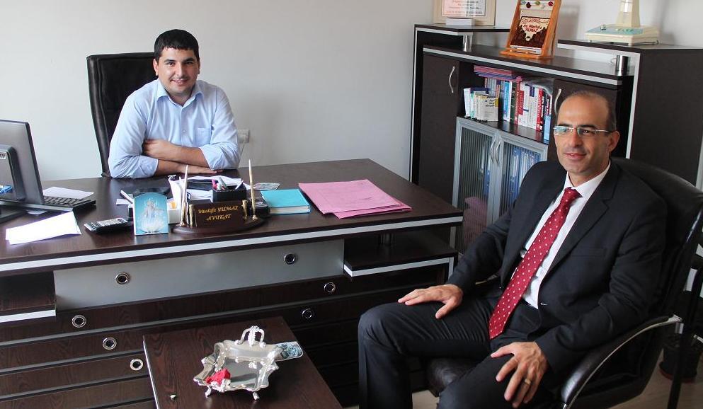 Baro Başkanımız Avukat Faruk BOSTANCI' dan Avukat Mustafa YILMAZ'a Ziyaret