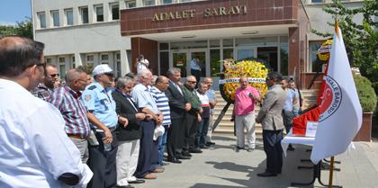 Baromuz Eski Başkanlarından Av. İzzet ŞENER' in Vefatı Nedeniyle Tören Düzenlendi