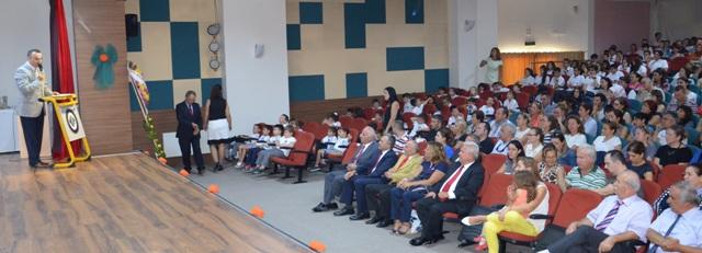 Kolejin Açılış Dersi Baro Başkanımız Av. Bülent Şarlan'dan
