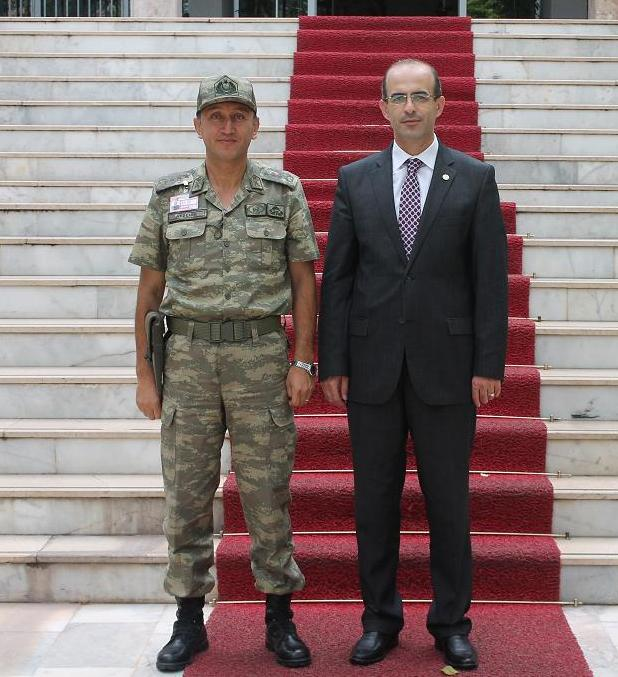 Baro Başkanımızdan Tokat 48. Piyade Alay Komutanı' na Ziyaret