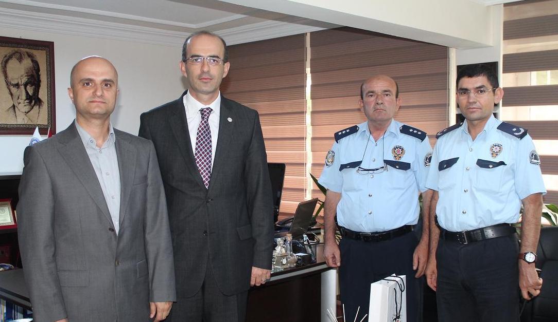 Baro Başkanımızdan Tokat Asayiş Şube Müdürü' ne Ziyaret