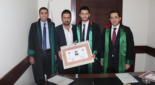 Avukat Mustafa KAYAN'a Avukatlık Ruhsatnamesi Verilmesi Hakkında