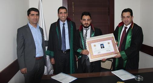 Avukat Rıdvan ÇEKİM'e Avukatlık Ruhsatnamesi Verilmesi Hakkında