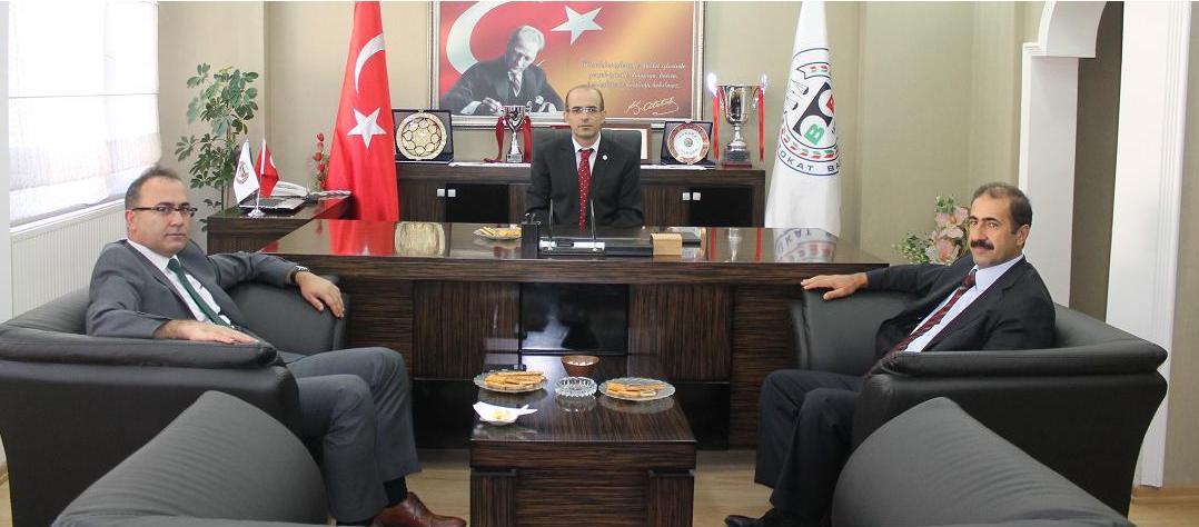 Tokat Cumhuriyet Başsavcısı ve Adli Yargı Adalet Komisyonu Başkanı'ndan Baromuza Ziyaret