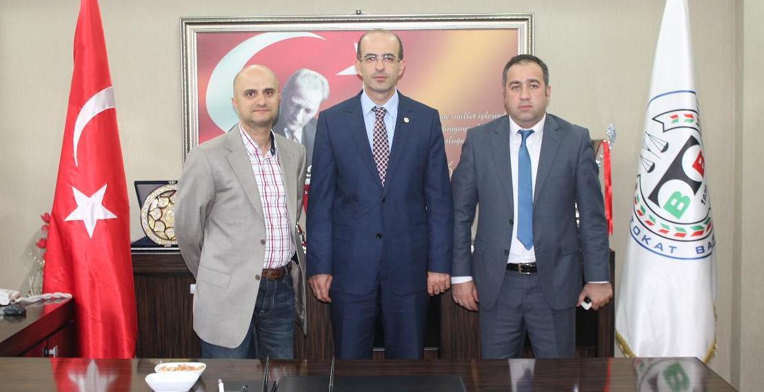 Tokat Asayiş Şube Müdürü ve Kaçakçılık ve Organize Suçlar Şube Müdürü'nden Baromuza Ziyaret