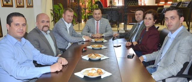 Çanakkale Milletvekili Meslektaşımız Av. Mehmet Daniş Baromuzu Ziyaret etti