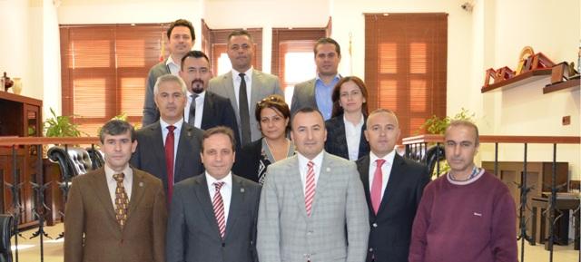 Çanakkale Serbest Muhasebeciler Odası Başkanı Hakkı Alacaoğlu Baromuzu ziyaret etti
