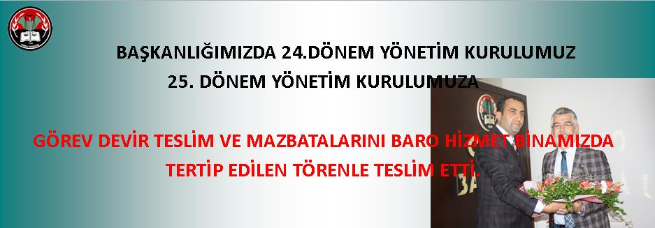 MAZBATA TÖRENİ