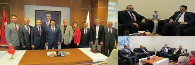 Ortahisar Belediye Başkanı ziyareti
