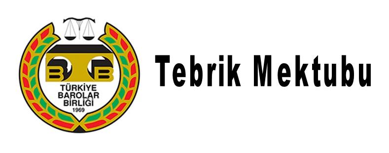 TEBRİK MEKTUBU