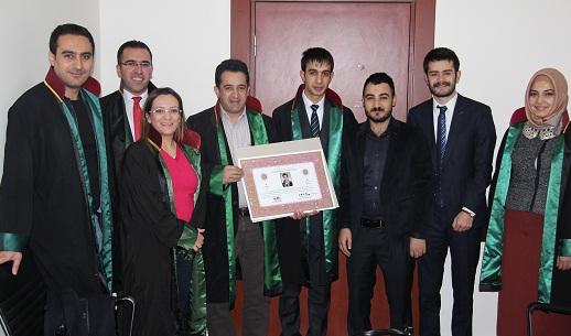 Avukat Ömer GÜRTEKİN'e Avukatlık Ruhsatnamesi Verilmesi Hakkında