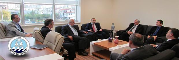 KTÜ Rektörü Prof. Dr. Süleyman BAYKAL ziyareti