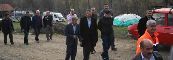 Çorum Barosu Olarak Çukuröz köyünü Ziyaret Ederek Yangınzede Köylülerle Bir araya Geldik