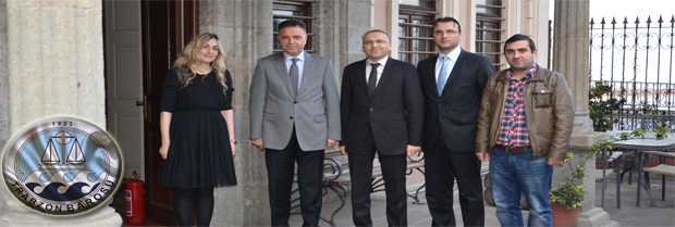 Trabzon Bölge İstinaf Mahkemesi Cumhuriyet Başsavcısı ziyareti