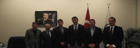 ABD Adana Konsolosu ndan Baromuza ziyaret