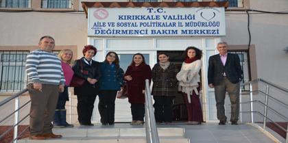 Kadın ve Çocuk Hakları Komisyonlarımız Bakım Merkezini Ziyaret Etti