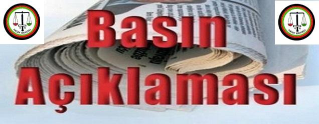 Hakkâri Barosu Üyesi İki Avukata Yapılan Haksız Gözaltı ve Darp Eylemi Basın açıklaması