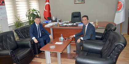 Kırıkkale İl Halk Sağlığı Müdürü Dr. Feramiş Ender GÜNGÜNEŞ Baromuzu Ziyaret Etti
