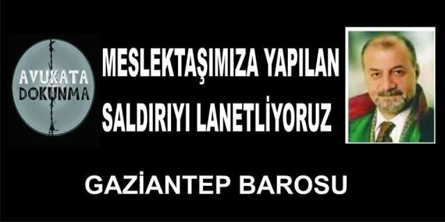 BAROMUZ ÜYESİ Av.İsmail AKKAYA'YA YAPILAN SALDIRIYI KINIYORUZ