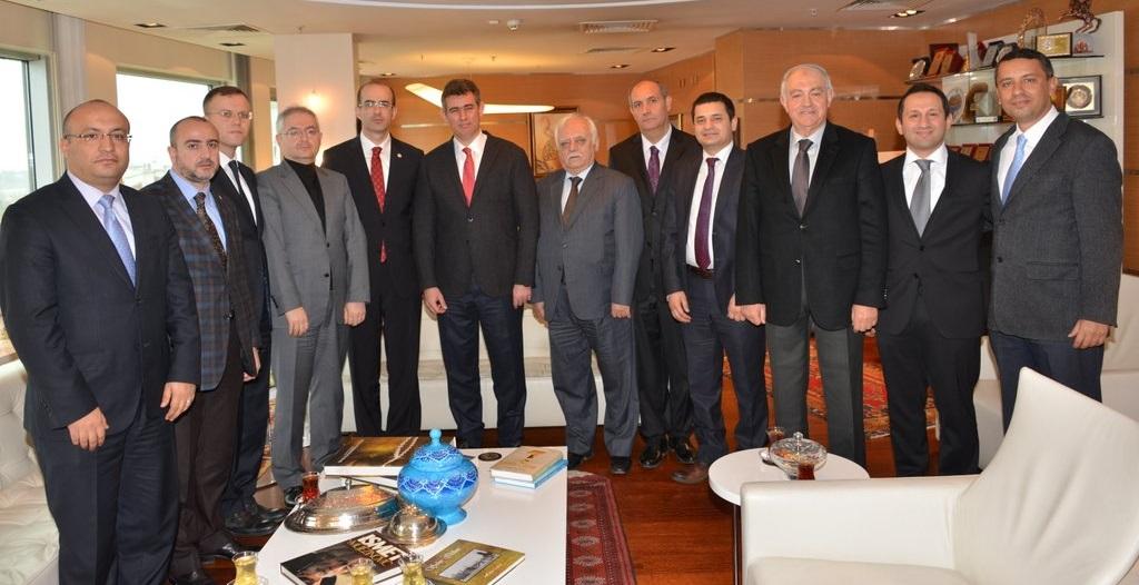 Baromuzdan Türkiye Barolar Birliği Başkanlığına Ziyaret