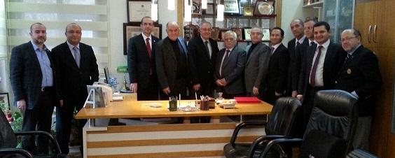 Av.Vedat Ahsen Coşar ve Av.Salih AKGÜL'e Baromuzdan Ziyaret
