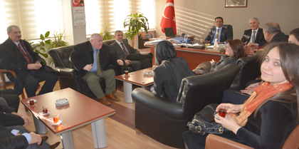 AK Parti Kırıkkale Merkez İlçe Yeni Teşkilatı Baromuzu Ziyaret Etti